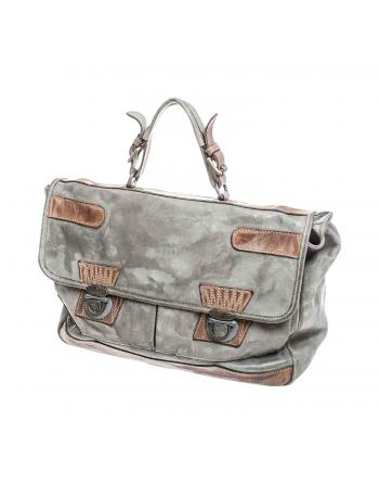 CARTABLE SACOCHE AFFRESCO GRIS FACE