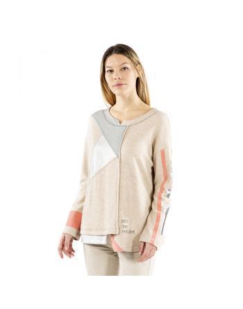 SWEATSHIRT MAILLES ORIGINI Elisa Cavaletti EJW215570302
