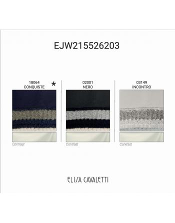 SWEATSHIRT KANGOUROU EPAULE CONQUISTE Elisa Cavaletti EJW215526203CQ