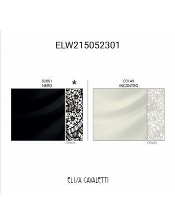 T-SHIRT PIZZO NERO Elisa Cavaletti ELW215052301N