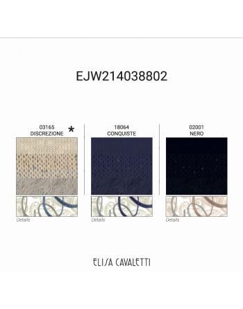 PULL MAILLES BLAZON DISCREZIONE Elisa Cavaletti EJW214038802D