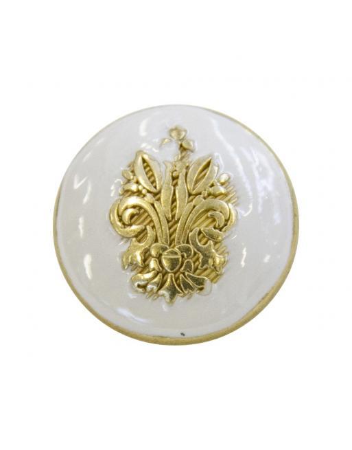 bouton bijou gros rond armoiries elisa cavaletti jewmg0442bgm