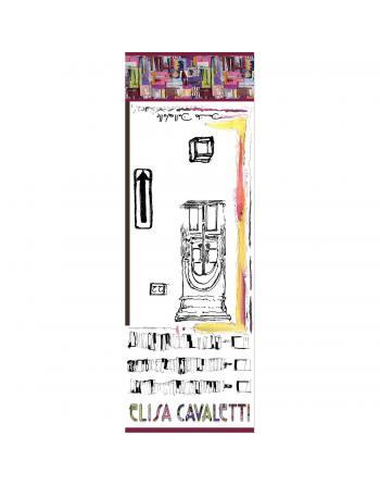 FOULARD LONG SOIE RAPSBERRY Elisa Cavaletti ELP190856811