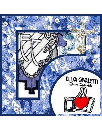 FOULARD COTON DANTE MARE Elisa Cavaletti ELP200856804