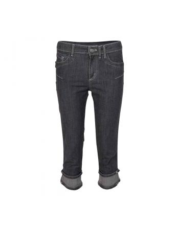 PANTALON COURT DENIM NERO Elisa Cavaletti ELP206018100