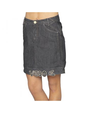 JUPE DENIM NERO VEDO Dallavalle Armadio TAM3041100000
