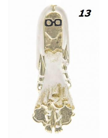 COLLIER WHITE ORO DANY Elisa Cavaletti DD0110101D013