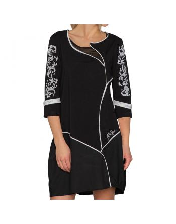 ROBE TUNIQUE NERO Arte Pura ITAPC30014N