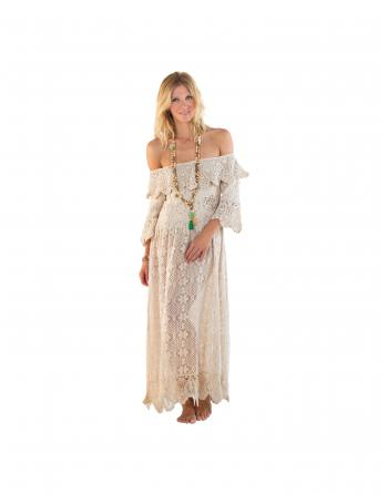 ROBE CATARINA CHAMPAGNE Always the Sun ALWOH1890C