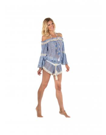 SHORT CROCHET BLEU Always the Sun ALWOA1843B