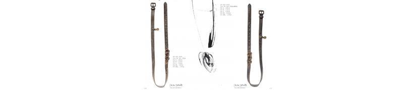 les ceintures maroquinerie pell'ami Daniela Dallavalle