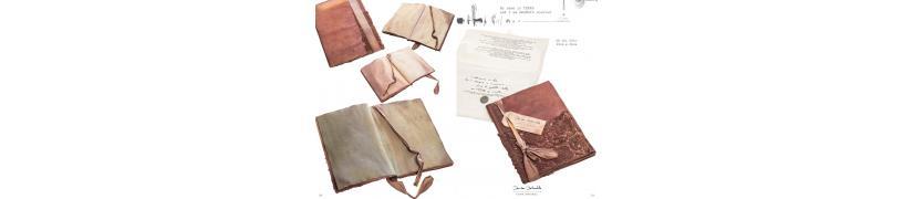 journal intime C'Arte Sartoriali carterie italienne Daniela Dallavalle